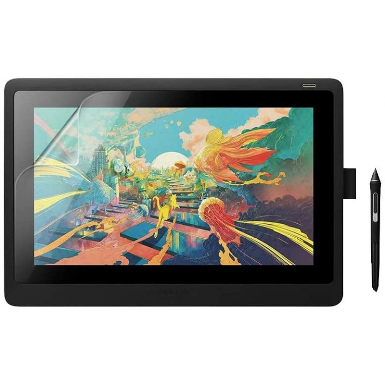 Celicious Matte Anti-Glare Film Protector for Wacom Cintiq 16 (DTK-1660) [Pack of 2]
