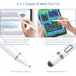 Active Stylus Pen Compatible for iOS & Android Touch Screens