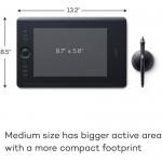 Wacom Intuos Pro PTH-660-N (Medium, Black)